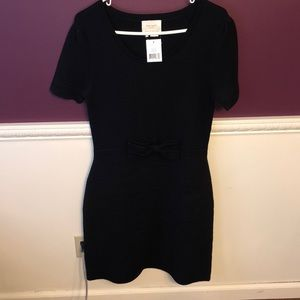 NWT Kate Spade black bow dress